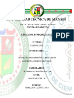 CARDIOLOGIA FÁRMACOS-ANTIARRITMICOS