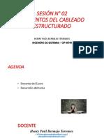 Sesión N° 02 - Elementos Cableado Estructurado.pdf