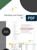 Plantillas Power BI JSON