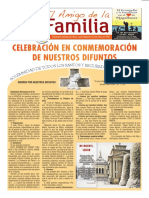 EL AMIGO DE LA FAMILIA 28 octubre 2018