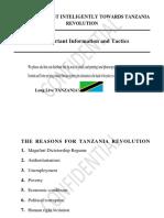 How to Protest Inteligently Towards Tanzania Revolution (2)