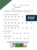 200 fichas para trabajar fracciones.pdf