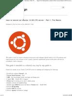 How to Secure an Ubuntu 12