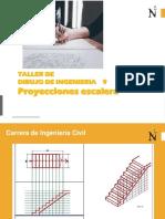 Dibujo en Ingenieria 9 Escalera