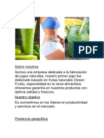 Green Fruis Trabajo Final de emprendedor