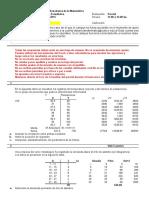 Estadística - Parcial 2015 CAECE