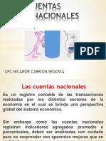 Las Cuentas Nacionales 2016