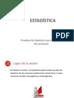 MA444_semana 11_sesión Online_2018_02_Prueba de Hipótesis Del Cociente de Varianzas.