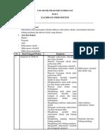 Log Book Praktikum Biologi 2
