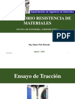 Ensayo de Tracción I - Resitencia de Materiales