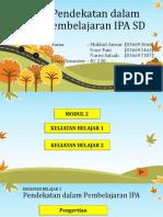Modul 2 (Pendekatan Dalam Pembelajaran IPA)