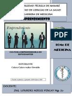 Cultura Empresarial Walter Calero