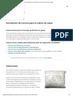 Instrucciones Para La Inoculación de Troncos Seteros _ Cultivo de Setas