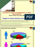 4. Protein Nutrition (David Bender)