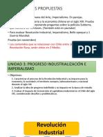 Unidad 3 1 Medio Progreso Industrializacion Imperialismo