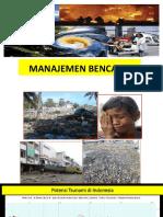 1. Manajemen bencana