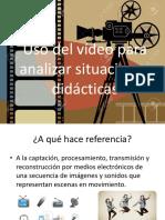 Uso Del Vídeo Para Analizar Situaciones Didácticas