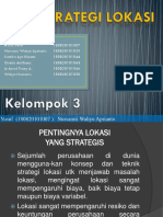 Kelompok 3 - Strategi Lokasi