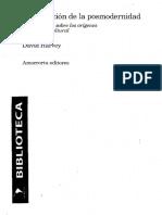 02. Harvey David_Modernidad y modernismo_La condicon de la posmodernidad.pdf