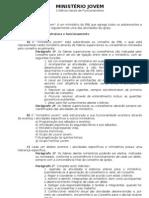 Ministério Jovem - Critérios gerais de funcionamento