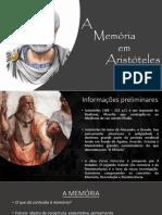 A MEMÓRIA EM ARISTÓTELES.pptx