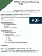 (I) UE 2.6.1 Sécurité des systèmes d'information et prévention des fraudes (I.A.E Bordeaux M 2 DFCGAI)