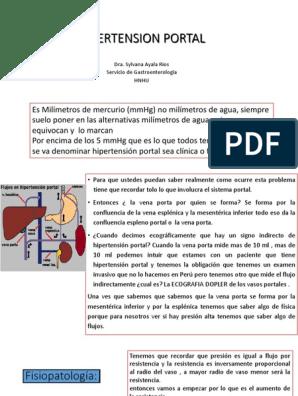 Diapositivas ppt cirrosis e hipertensión portal