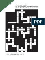 Business Idioms Crossword Puzzle.pdf