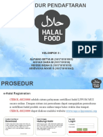 Halal Food PowerPoint Templates Standard
