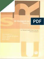 IX Coloquio de Teología. Ética y Universidad