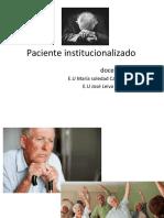 paciente institucionalizado