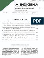 América Indígena, Vol. VI, No. 3, 1946