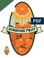 Etiqueta Para Fruta
