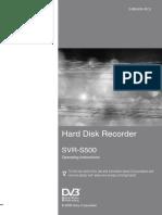 SVR-S500 - Hard Disk Recover