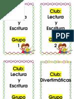 Clubes y Grupos 1