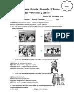 Guía Evaluada Historia y Geografía 3