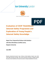 Internet Safety Report 4-2010