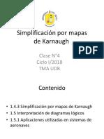 Clase Electronica Digital. Simplificacion de mapas de karnaugh