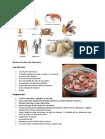 Receta Ceviche de Camarón