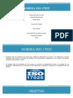 Normas ISO 17025