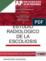 ESTUDIO RX DE ESCOLIOSIS