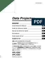 Data Proyector  -