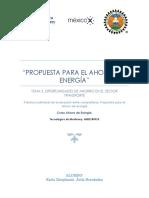 Estrategias de Ahorro de Energía Por Karla Ávila.