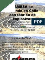 FAMESA Se Expande en Chile Con Fábrica De