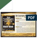 Web Technologies Black Book