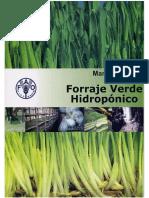 Manual Técnico de Forraje Verde Hidropónico - FAO