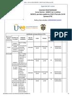 Agenda - Calculo Multivariado - 2018 II Periodo 16-04 (Peraca 474)