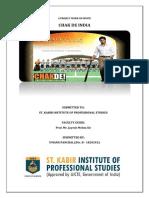 Chak de India Management Perspective Project