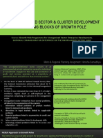 The Un-Organized Sector & Cluster Development as Building