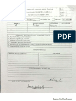 Evaluación Diario de Clase